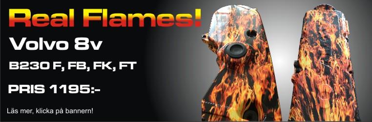 Kamremskåpa Flames