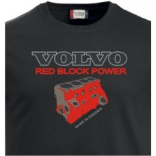 T-shirt Red Block Power Engine