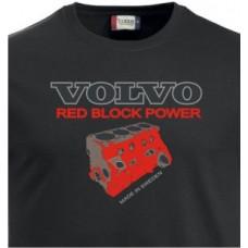 T-shirt Red Block Power Engine