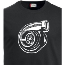 T-shirt Turbo Charger med text